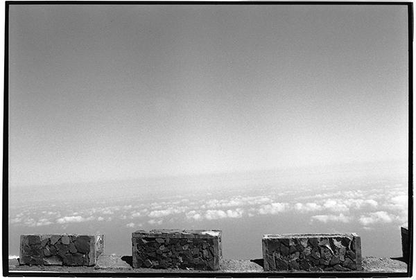 Cloudporn Fotografie Schwarzweiß Landschaft Landschaftsphotgraphie Landschaftsfotografie Landscape La Palma Baumgrenze Wolken Strasse