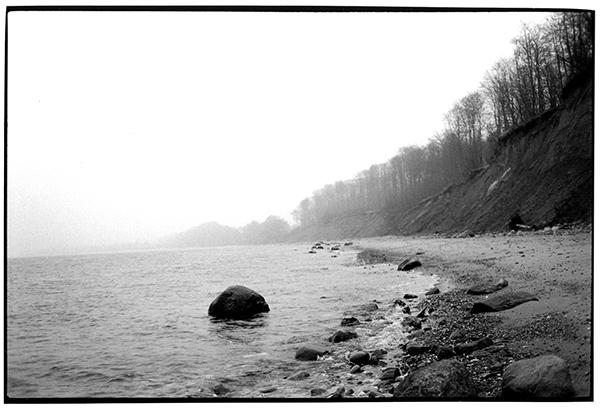 Fotografie Schwarzweiß Landschaft Landschaftsphotgraphie Landscape Schleswig-Holstein Noer Ostsee Meer Steilküste