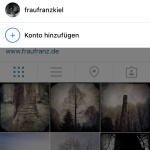 Multiple Instagram Accounts verwalten