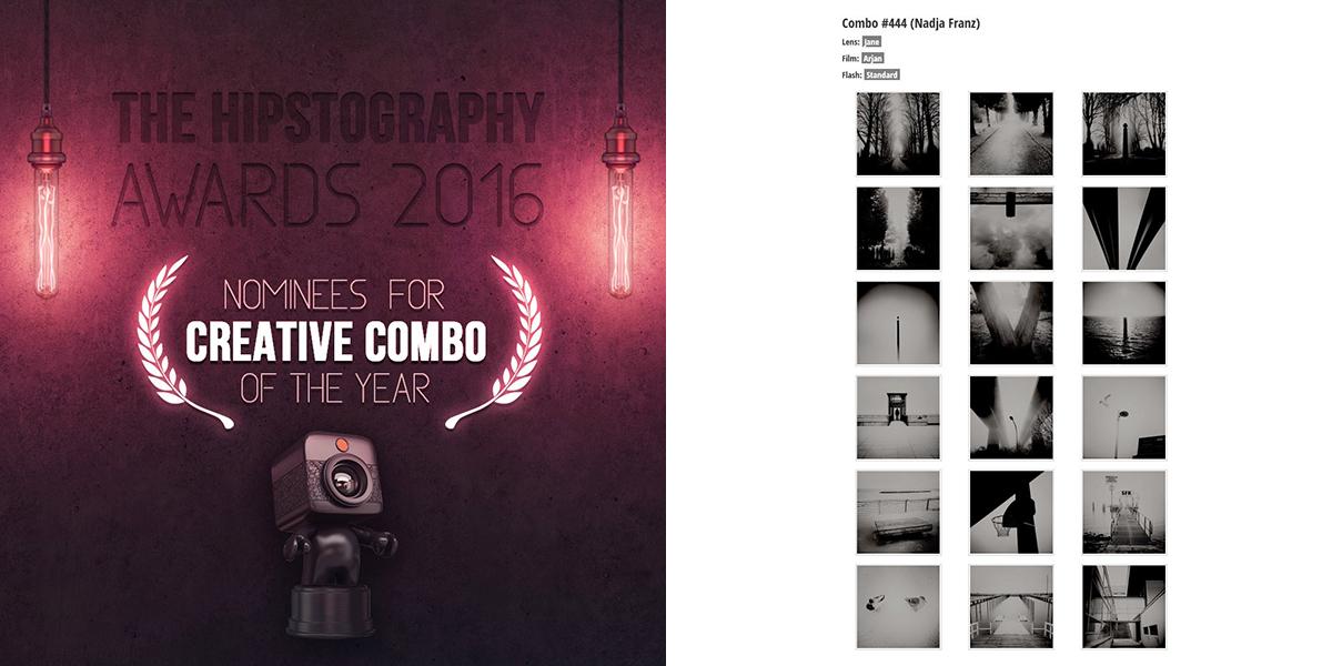Arjan - Jane Combo der Creative Combo Nominierung bei den Hipstography Awards 2016