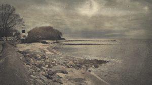 Retro Seascape